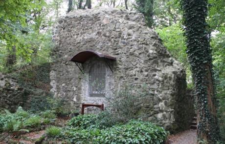 Restaurierung Mauerreste Schenkenburg Winterstettenstadt