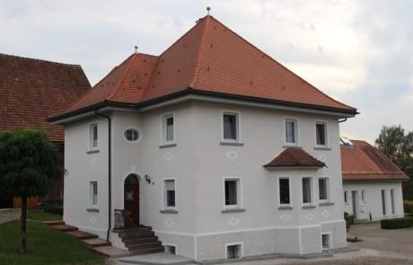 Fassadengestaltung in Mühlhausen