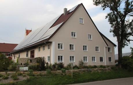 Fassadengestaltung in Hochdorf