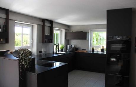 Küchengestaltung in Ehrensberg