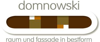 domnowski – raum und fassade in bestform Logo