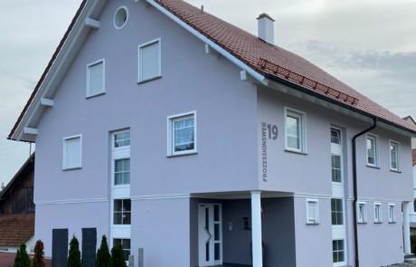 Außenfassade in Unteressendorf